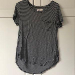 Hollister striped t shirt